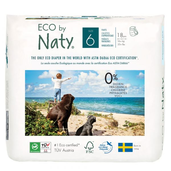 Naty Eco Windelhöschen Gr. 6  16+ kg