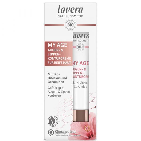 Lavera MY AGE Augen- & Lippenkonturcreme