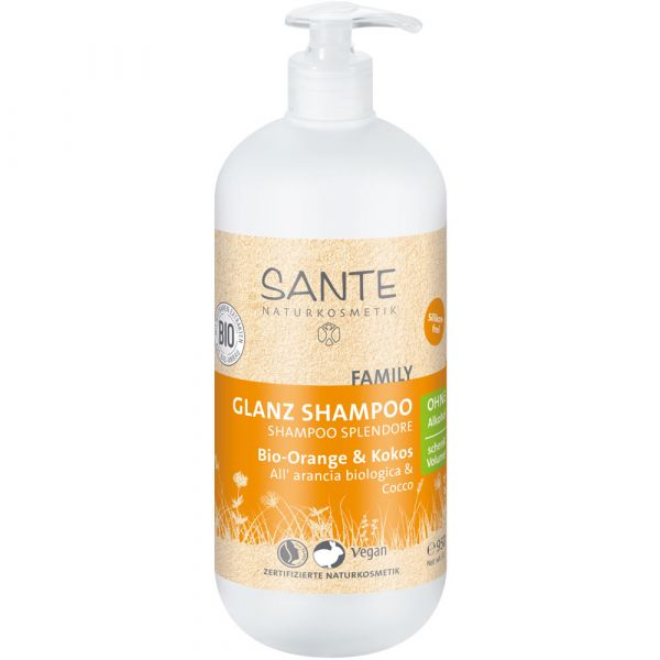 Sante Glanz Shampoo Bio-Orange & Kokos 950ml