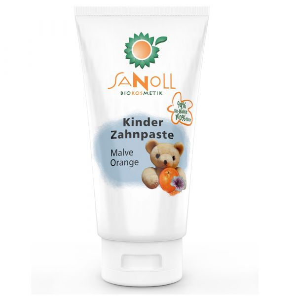 Sanoll Kinder Zahnpaste Malve-Orange