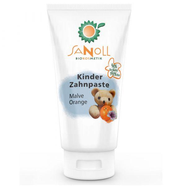Sanoll Kinder Zahnpaste Malve-Orange