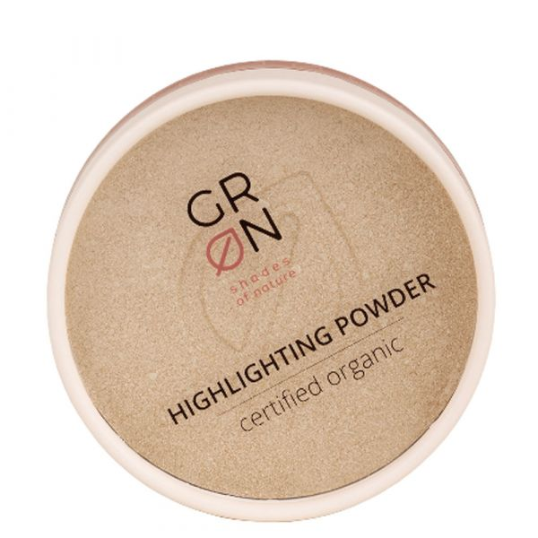 Grön Highlighting Powder golden