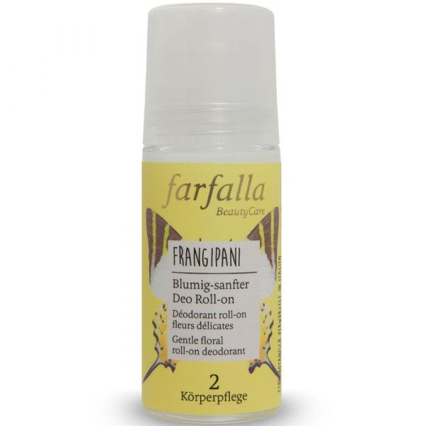 Farfalla Frangipani Blumig-sanfter Deo Roll-on 50ml
