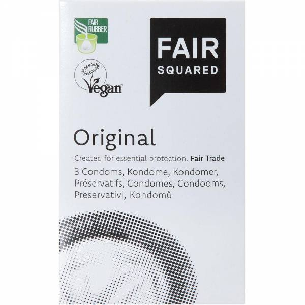 Fair Squared Kondom Original 3er-Pack