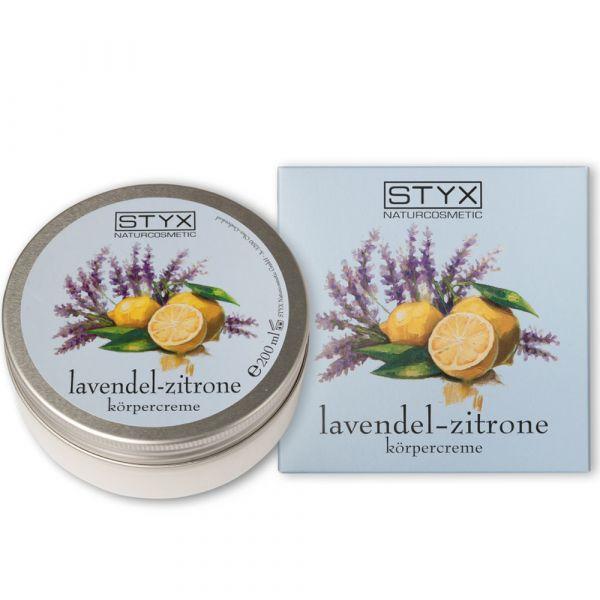 Styx Lavendel Zitrone Körpercreme 200ml