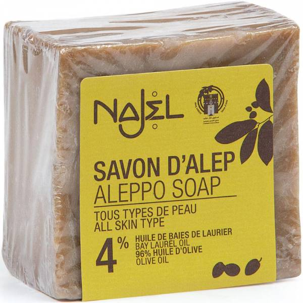 Najel Aleppo-Seife 4% Lorbeeröl