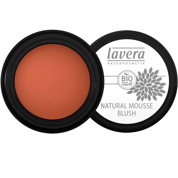 Lavera Natural Mousse Blush Soft Cherry 02