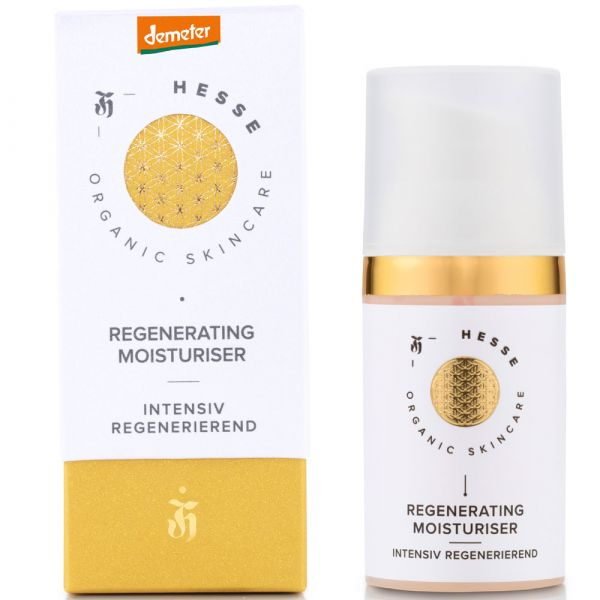 Hesse Organic Skincare REGENERATING MOISTURISER SOOTHING & REJUVINATING