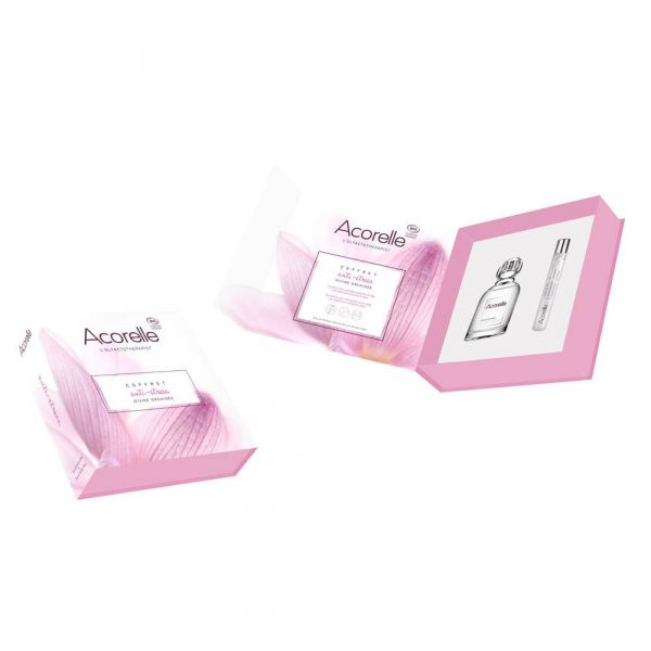 acorelle Geschenkset Anti Stress 1 EDP Orchidée 1 Parfum Roll on gratis