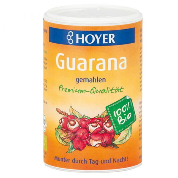 Hoyer Guarana gemahlen