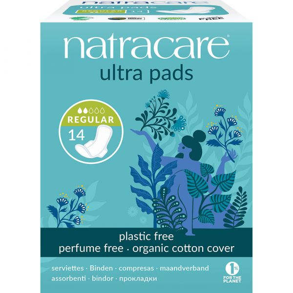 Natracare Ultra with Wings Regular