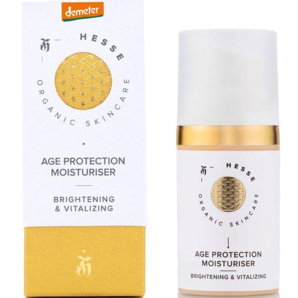 Hesse Organic Skincare AGE PROTECTION MOISTURISER Brightening & Vitalizing