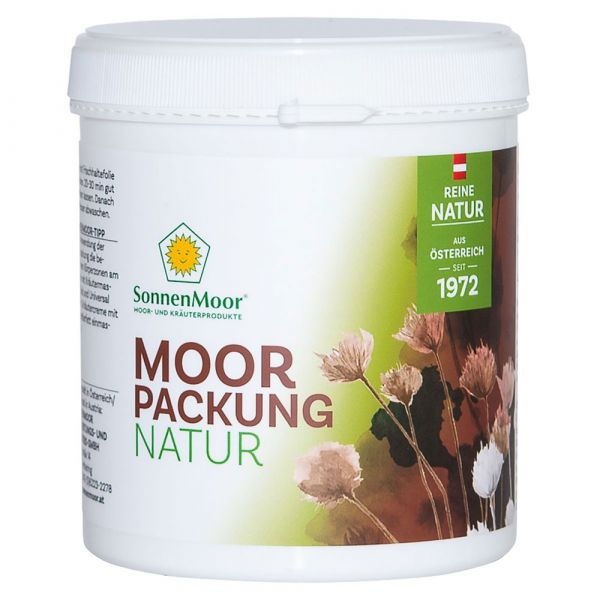 SonneMoor Moorpackung Natur