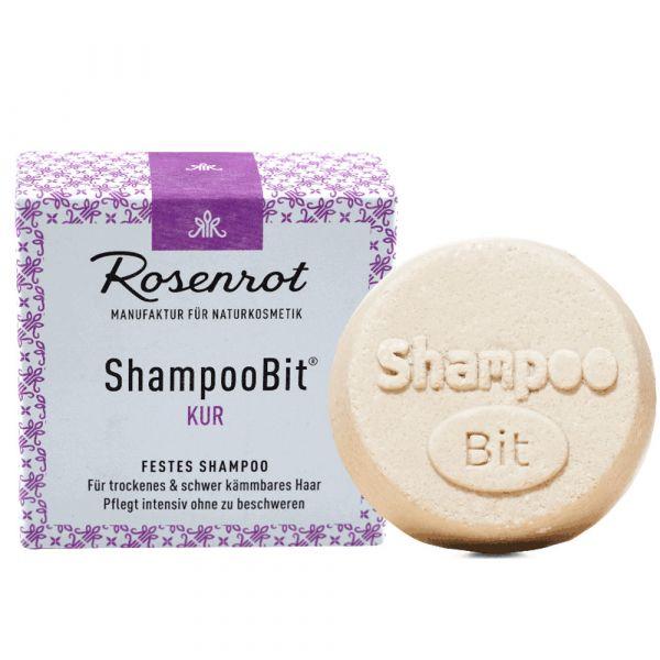 Rosenrot festes Shampoo Kur