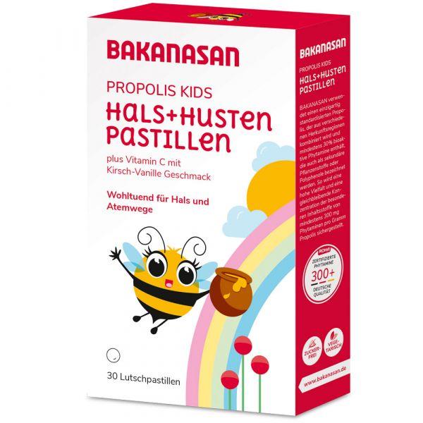 Bakanasan Propolis Lutsch Drops für Kinder