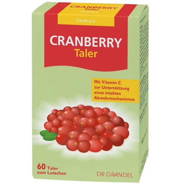 Dr. Grandel Cranberry Cerola Taler 60 Stück