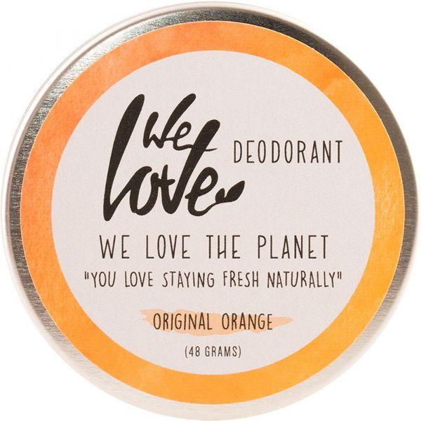 We Love The Planet Natürliche Deo Creme Original Orange