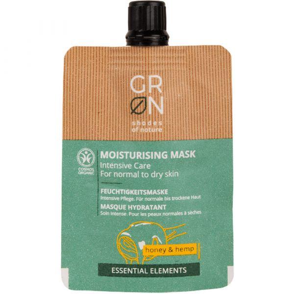 Grön Cream Mask Honey & Hemp