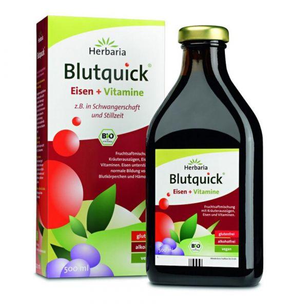 Herbaria Blutquick ohne Alkohol 500ml