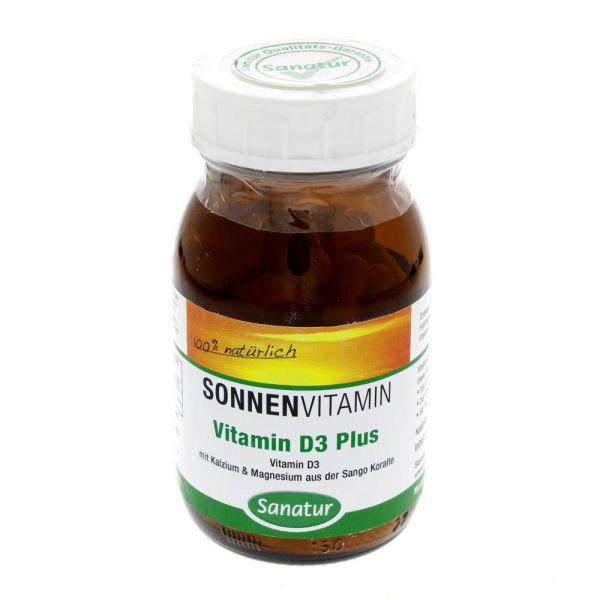 Sanatur Vitamin D3 Plus Kapseln