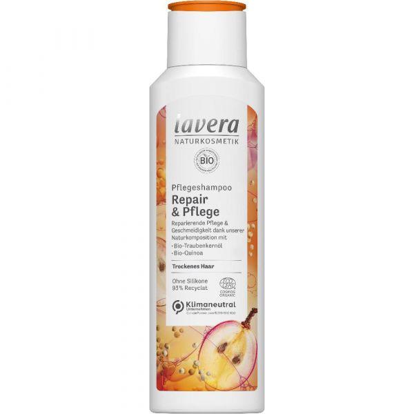 Lavera PFLEGESHAMPOO REPAIR & PFLEGE Bio-Traubenkernöl & Bio-Quinoa