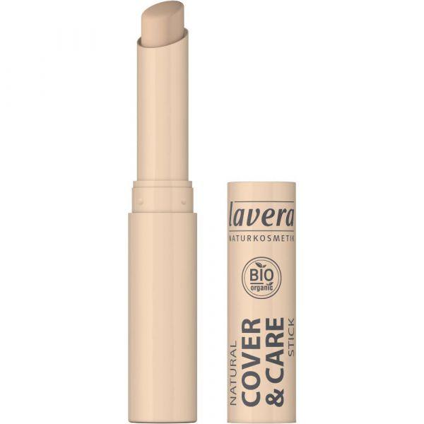 Lavera COVER & CARE STICK Ivory 01