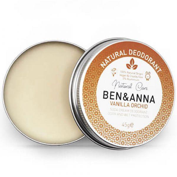 Ben & Anna Deo Creme Metalldose Vanilla Orchid