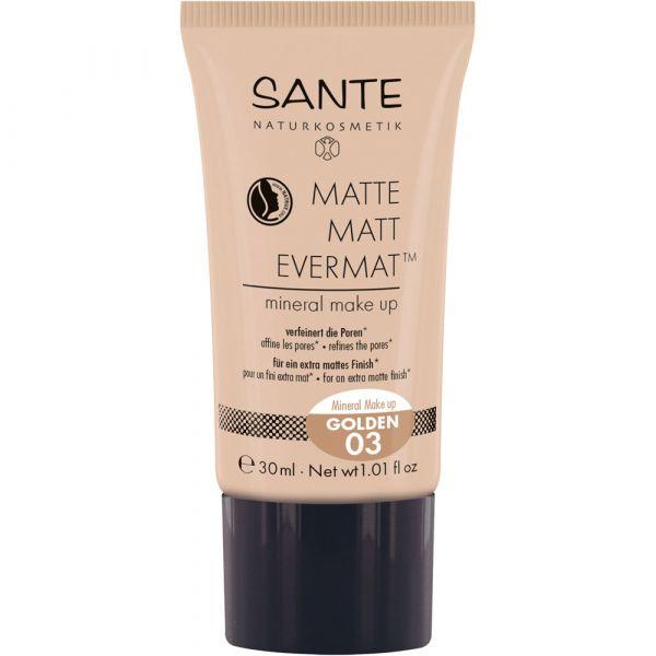 Sante MATTE MATT EVERMAT mineral make up 03 golden