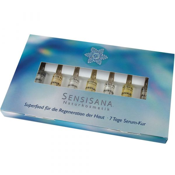 Sensisana 7-Tage-Serum Kur Set in Ampullen