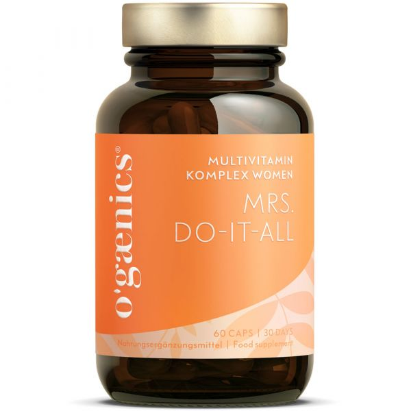 Ogaenics MRS. DO-IT-ALL Multivitamin Komplex Women