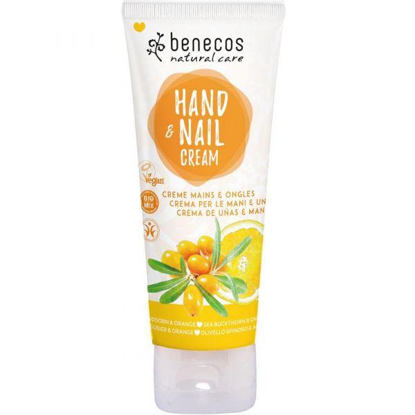 Benecos Hand & Nail Cream Sanddorn
