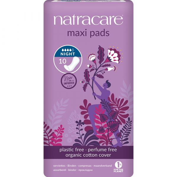 Natracare Maxi pads Night Time