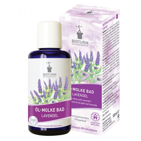 Bioturm Öl-Molke Bad Lavendel 100ml