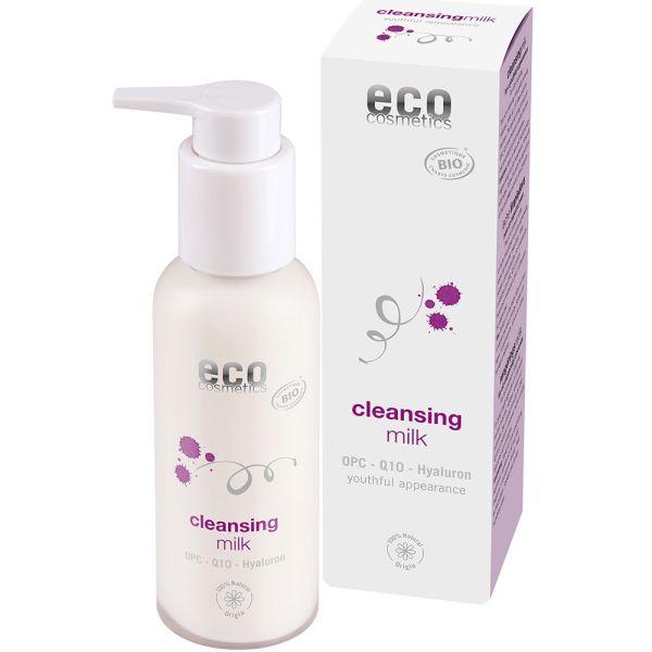 Eco Cosmetics Reinigungsmilch mit OPC Q10 und Hyaluron