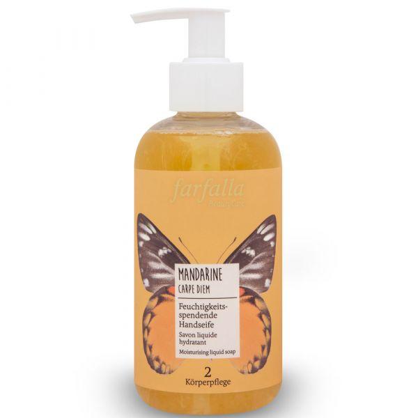 Farfalla Mandarine Carpe Diem Feuchtigkeitsspendende Handseife 300ml