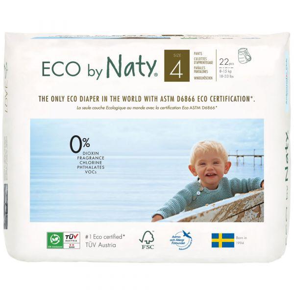 Naty Eco Windelhöschen Gr. 4  8-15 kg