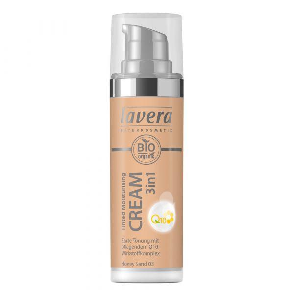 Lavera TINTED MOISTURISING CREAM 3in1 Q10 Honey Sand 03