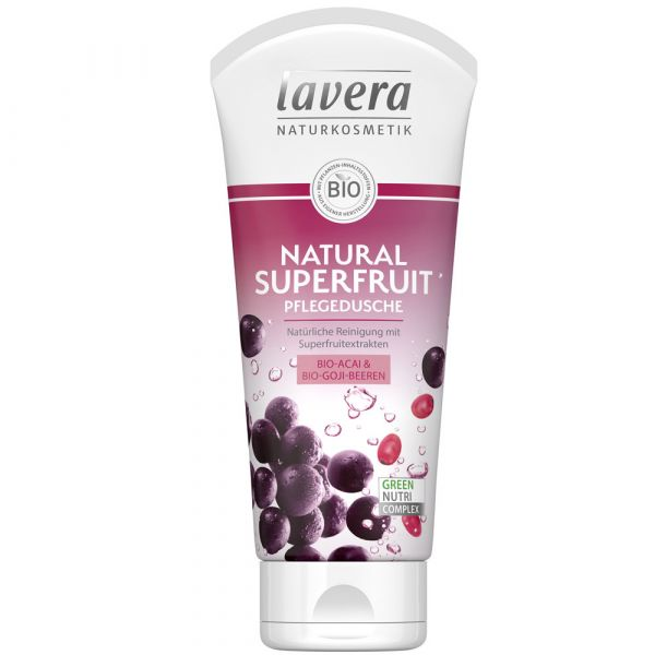 Lavera Pflegedusche Natural Superfruit