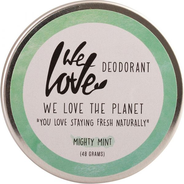We Love The Planet Natürliche Deo Creme Mighty Mint
