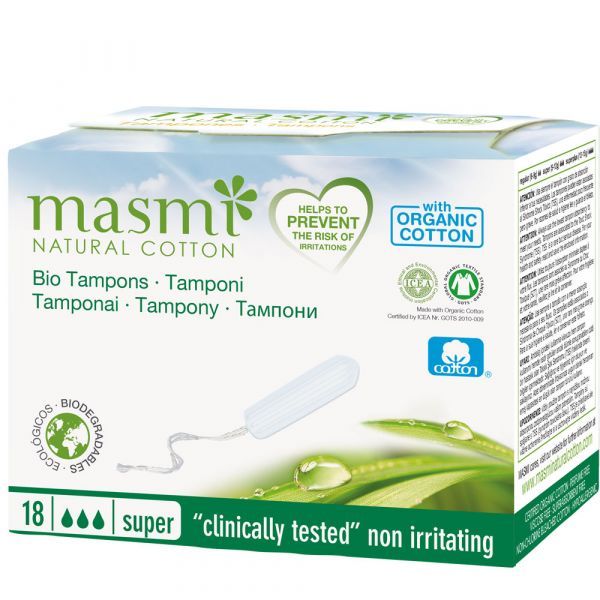 Masmi Bio Tampons Super