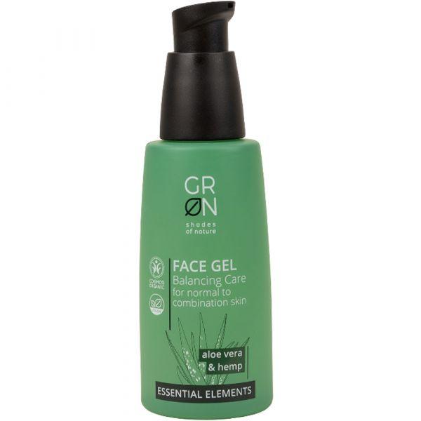 Grön Face Gel Aloe Vera & Hemp