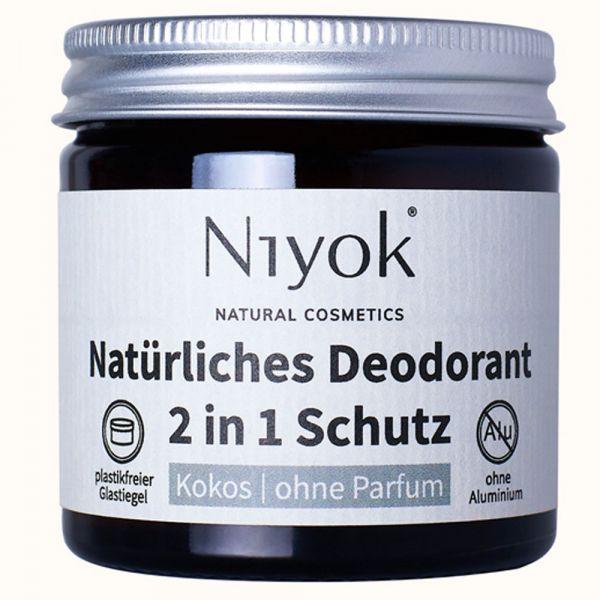 Niyok Deodorant 2in1 Kokos