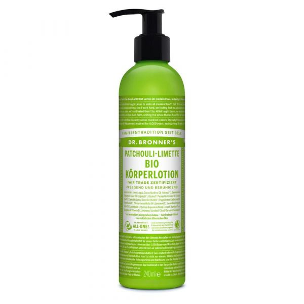 Dr. Bronner´s Body Lotion Patschuli Limette