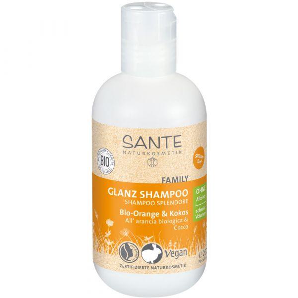 Sante Glanz Shampoo Bio-Orange & Kokos 200ml