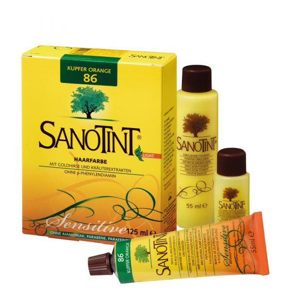SANOTINT® Haarfarbe Light Kupfer Orange NR