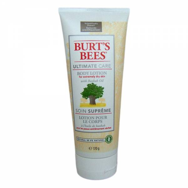 Burts Bees Ultimate Care Body Lotion mit Baobab Oil
