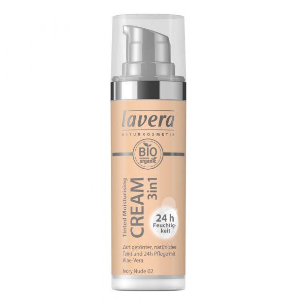 Lavera TINTED MOISTURISING CREAM 3in1 Nude 02