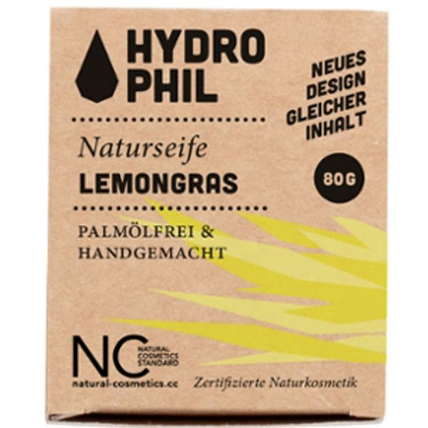 Hydrophil Seife Lemongrass