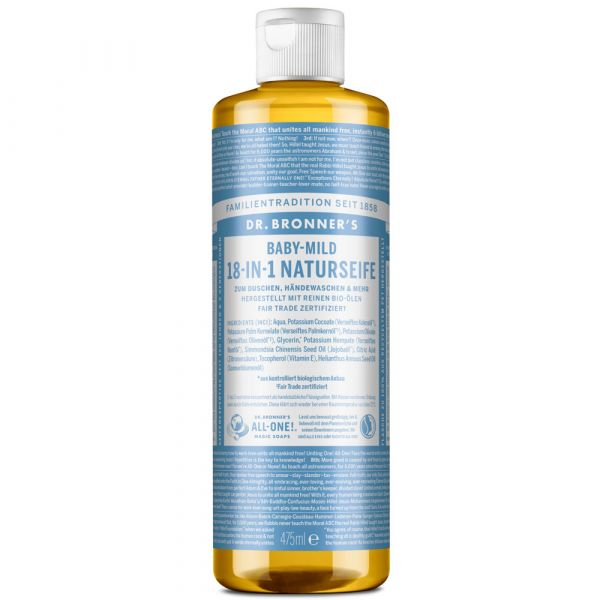 Dr. Bronners 18-IN-1 Naturseife Baby Mild 473ml