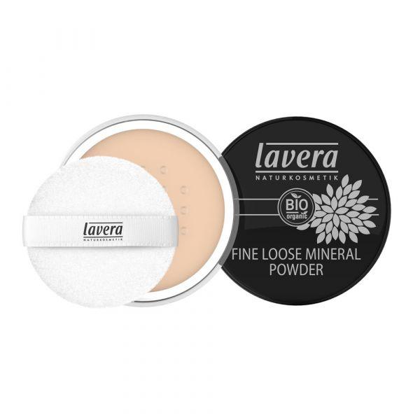 Lavera FINE LOOSE MINERAL POWDER Ivory 01